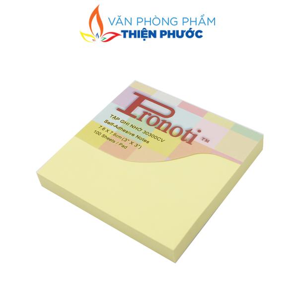 giấy note vàng 3x3 pronoti