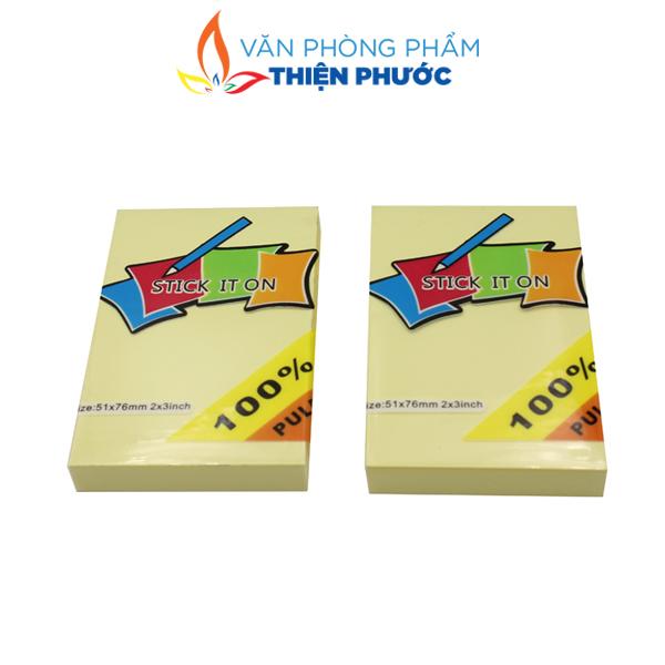 giấy Note vàng Uni-T 2x3