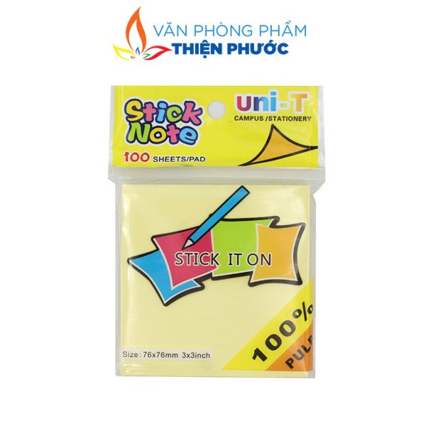 giấy Note vàng Uni-T 3x3