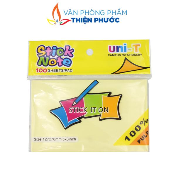 giấy Note vàng Uni-T 3x5