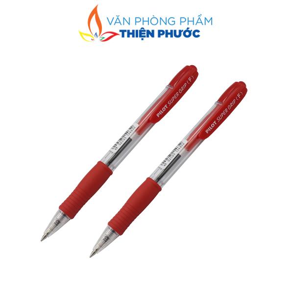 Bút Pilot Super Grip đỏ chính hãng