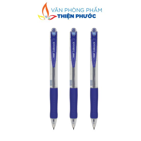 bút Uni Laknock SN-100-05 xanh chính hãng