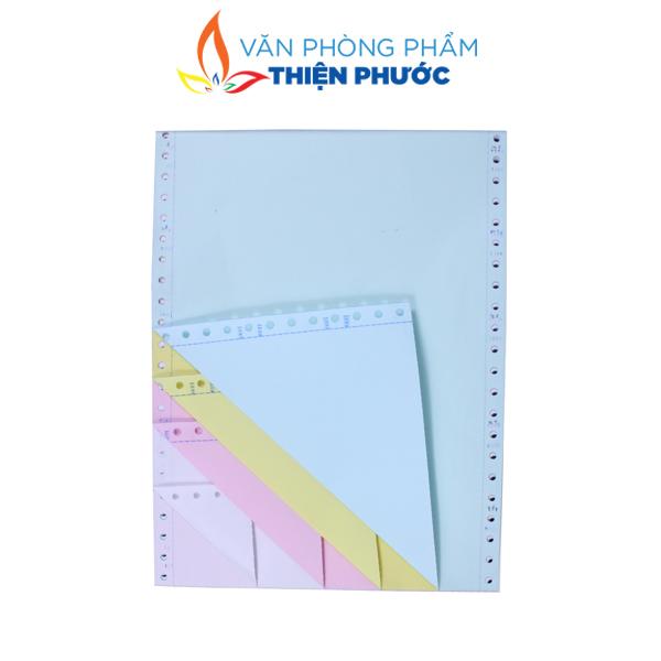 giấy in liên tục 4 liên A4 210x279mm
