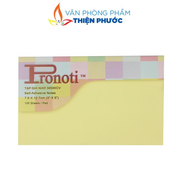 giấy note vàng Pronoti 3x5