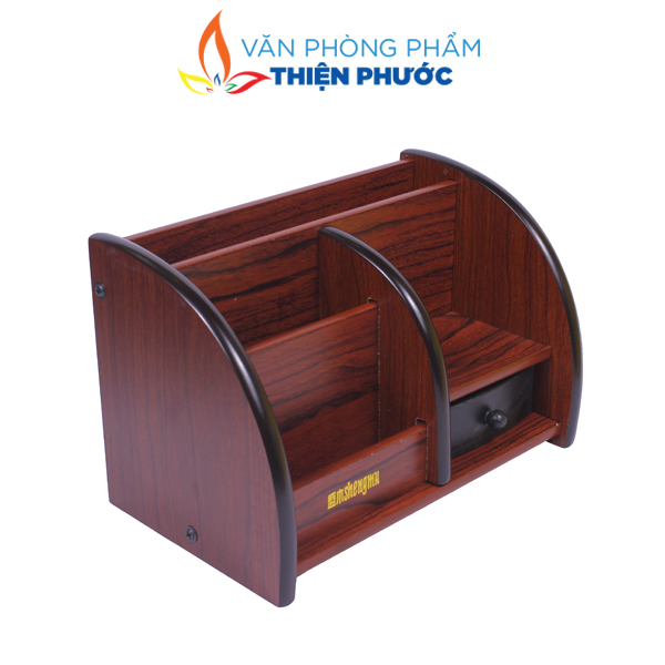 hộp cắm bút gỗ SM-6051