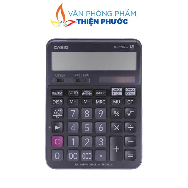 Máy tính cầm tay Casio DJ-120D chính hãng