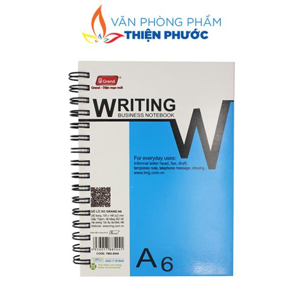 Sổ Lò Xo Gran A6 200 trang giá rẻ